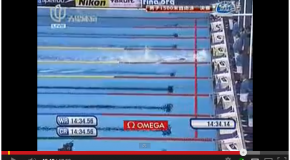 World Record – Men's 1500m Freestyle – Zhang Lin(孫楊)