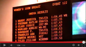World Record – Women's 100m Breaststroke – Jessica Hardy(ジェシカハーディ)