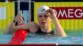 World Record – Women's 50m Freestyle – Britta Steffen(ブリッタシュテファン)