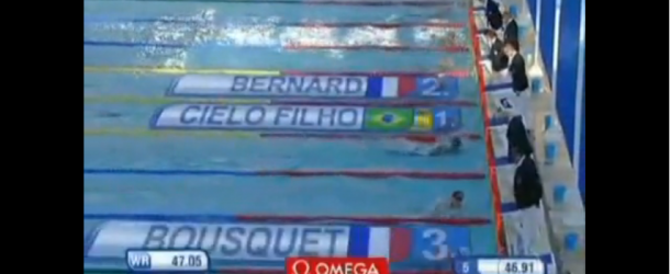 World Record – Men's 100m Freestyle – Cesar Cielo