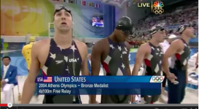 World Record – Men's 100x4m Freestyle Relay – United States(アメリカ)