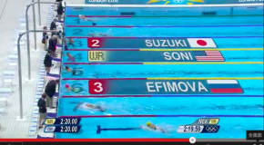 World Record – Women's 200m Breaststroke – Rebecca Soni(レベッカソニ)