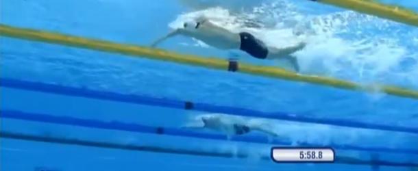 Freestye Swimming Technique (=1500m World Recorder 孫楊)