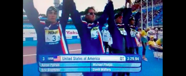World Record – Men's 100x4m Medley Relay – United States(アメリカ)