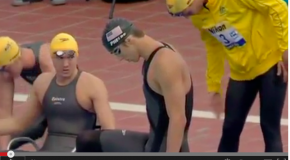 World Record – Men's 200x4m Freestyle Relay – United States(アメリカ)