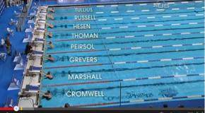 World Record – Men's 100m Backstroke – Aaron Wells Peirsol(アーロンピアソル)