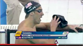 World Record – Men's 400m Individual Medley – Michael Phelps(マイケルフェルプス)