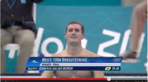 World Record – Men's 100m Breaststroke – Cameron van der Burgh(キャメロンファンデルバーグ)