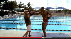 Swimmer's Boxing exercises