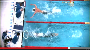 Technique((Finish)) 2008 Beijing Olympics Swimming Men's 100m Butterfly