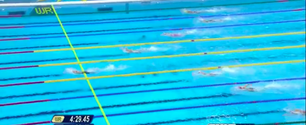 World Record – Women's 400m Individual Medley – YE Shiwen(葉詩文)