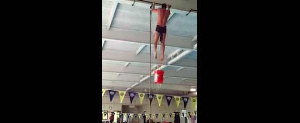 Rope Climb with a Bucket