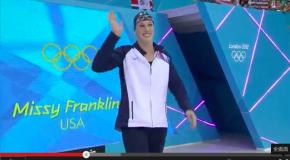 World Record – Women's 200m Backstroke – Missy Franklin(ミッシーフランクリン)
