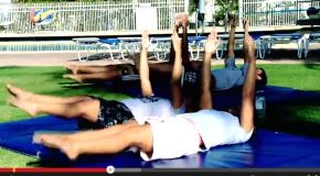 Freestyle Training (スタビライゼーション + side kick DRILL)