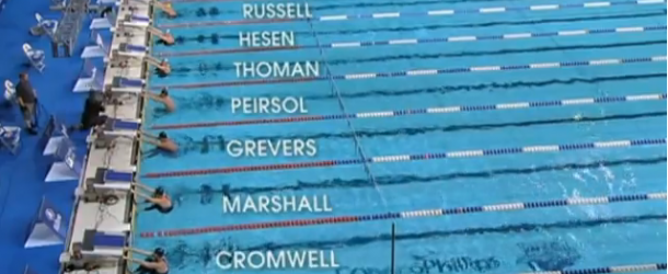 World Record – Men's 100m Backstroke – Aaron Wells Peirsol(アーロンピアソル)