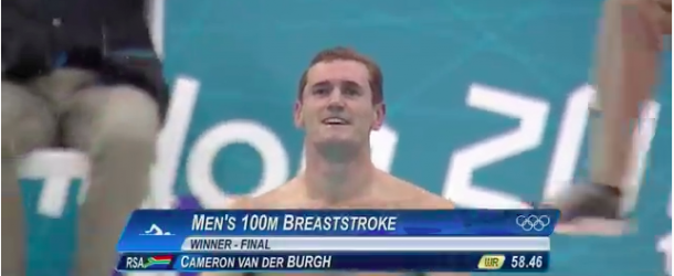 World Record – Men's 100m Breaststroke – Cameron van der Burgh(キャメロンファンデルバーグ)