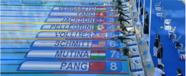 World Record – Women's 200m Freestyle – Federica Pellegrini(フェデリカペレグリニ)